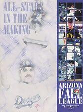 1996 ARIZONA FALL LEAGUE BASEBALL PROGRAM