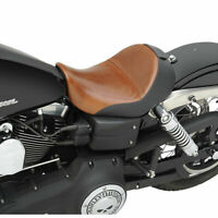 Saddlemen Lariat Driver Solo Seat w/ Saddlegel 2006-17 Harley Dyna FXD FXDWG