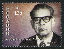 Ecuador 1738, MNH. Dr. Juan Lovato Vargas, Judge, 2005