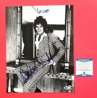 ROD STEWART SIGNED VINTAGE 11X14 PHOTO CERTIFIED AUTHENTIC WITH BAS COA psa jsa