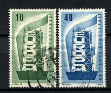 West Germany 1956 SG#1167-8 Europa Used Set #A26467