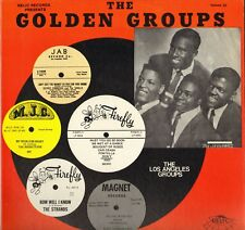"THE GOLDEN GROUPS ""THE LOS ANGELES GROUPS, VOL. 33"" DOO WOP 80'S LP RELIC 5056"