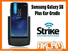 STRIKE ALPHA SAMSUNG GALAXY S8 PLUS CAR CRADLE - BUILT-IN CHARGER SECURE HOLD