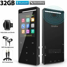 32GB Bluetooth MP3 Player FM Radio/Voice Recorder HiFI Lossless, new open box