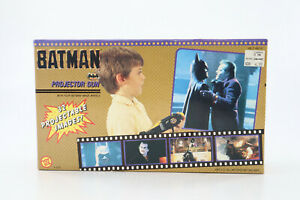 Vtg Batman The Movie Projector Gun W/32 Projectable Images Toybiz 1989 Sealed