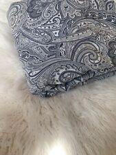 RALPH LAUREN Tapestry ASHBOURNE MEDALLION PAISLEY Queen Duvet Covet GOLD LABEL