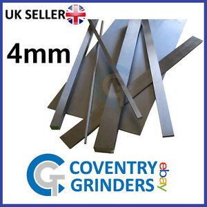 Ground Flat Stock Gauge Plate 4mm Thickness - 01 Tool Steel - Widths 4mm-300mm