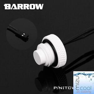 "Barrow G1/4"" White Temperature Sensor Stop Fitting - 301"