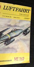 Messerschmidt ME 262 in Luftfahrt international # 12 von 1975