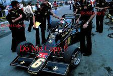 Mario Andretti JPS Lotus 77 Brazilian Grand Prix 1976 Photograph
