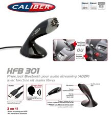 Kit Main Libre Bluetooth® Prise Jack Et A2DP Audio streaming Caliber
