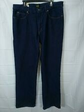 LEE Men's Dark Wash Regular Fit Bootcut Leg Jeans size 38x34 NWT
