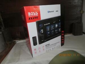 "BOSS Audio Elite BV755B Car DVD Player - Bluetooth, 6.2"" Touchscreen, DVD/USB/SD"