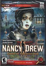 Nancy Drew GHOST OF THORNTON HALL PC & MAC Game DVD NEW in BOX