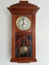 Sehr Schöne  Wanduhr Pendeluhr Regulator Pfeilkreuz ca 1920 guter Zustand
