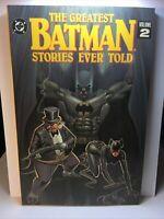 The Greatest BATMAN Stories Ever Told Vol 2 DC Comics TPB 1st Printing 1992 GN1