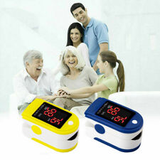 MISURATORE DI OSSIGENO PRESSIONE sangue SPO2 Oximetro Monitor SATURIMETRO FAD
