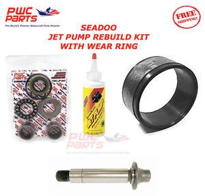 Seadoo Jet Pompe Reconstruction Kit Usure Bague Rotor Manche Huile 2001 GTS/3D