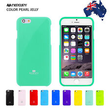 For iPhone X 10 8 7 6 Plus Case for Apple Mercury Goospery Jelly Rubber Cover