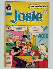 Josie 24 French edition En Francais 1976 Heritage Edition Very Good