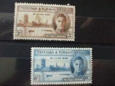 TRINIDAD & TOBAGO..1946 Victory Full  Set of 2vs MH Cat 0.50  (2B4)