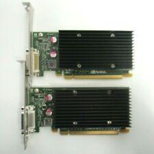 LOT of 2 PNY NVIDIA NVS 300 VCNVS300X16-T 512MB GDDR3 Video Graphics Card 34-3