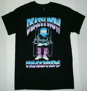 Ripple Junction Death Row Records Chrome Logo Tee Shirt New