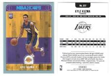 2017-18 Hoops KYLE KUZMA Platinum Blue Foil parallel RC #277 Lakers Rookie Card!