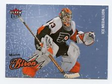 08-09 FLEER ULTRA ICE MEDALLION #68 MARTIN BIRON 094/100 FLYERS *56297