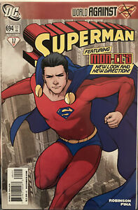 Lot Of 2 Superman #694,695 Different Costume See Pics Combined Shipping