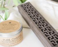 Mantra Ceramic Incense Burner - Incense Box - Incense Holder - Incense Stick Bur