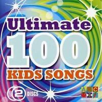 ULTIMATE 100 KIDS SONGS ABC For Kids 2CD BRAND NEW Children's Music