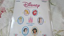 HTF BROTHER DISNEY Disney Princess Embroidery Card Rare and OOP EXCELLENT NEW