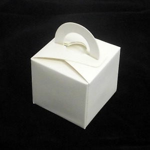 10 x Ivory Balloon Weights Cake Favour Boxes Adults Birthday Party Decoration