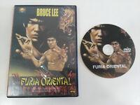 BRUCE LEE FURIA ORIENTAL FIST OF FURY DVD WEI LO REGION 0 ALL
