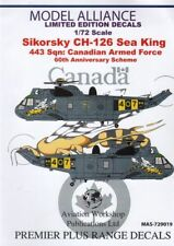 Model Alliance Decals Sikorsky CH-124 Sea King 443 Sqn RCAF 60th Anniversary