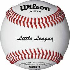 Wilson A1074 Little League Baseballs [1 Dozen / 10 Dozen Case]
