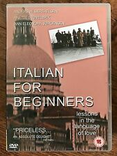 ITALIAN FOR BEGINNERS ~ 2000 Lone Scherfig Danish Dogme 95 Drama UK DVD