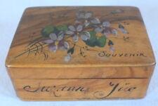 souvenir Monte Carlo Suzanne Jüe boite à priser pilules olivier pill box