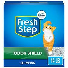 Fresh Step Odor Shield Scented Litter with The Power of Febreze Clumping Cat ...