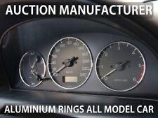 Mazda 626 GF 1997-2002 Chrome Cluster Gauge Dashboard Rings Speedo Trim 3pcs