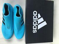 adidas Predator 19.3 LL TF Man's Light Blue Football Shoes EF0389 UK Size 11.5