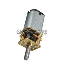 6/12V 300/600/30RPM Mini DC Metal Gear Motor with Gearwheel Shaft Diameter N20