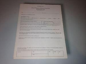 Very Rare Aerial Phenomena Research Organization (APRO) UFO Report Form (1967)