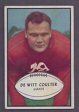 1953 Bowman #64 DeWitt Coulter New York Giants EX Plus (Short Print)