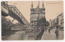 Germany, barmen, Neuerweg mit Schwebebahn 1908 Postcard, A754