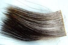 4x7 cm peau CRINIERE ELAN montage mouche moose fliegen moose hide skin mane