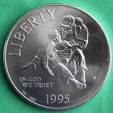 1995 Civil War Battlefield BU 90% Silver Dollar Commemorative US MINT Coin ONLY