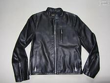 Levi's® Jacke Lederjacke, Gr. M, schwarz, Echtes Leder, Biker Style, RARITÄT !!