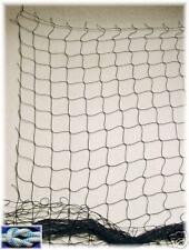 Schutznetz, Dekonetz, Ballfangnetz, 3 METER Bahnbreite schwarz, 50mm Masche